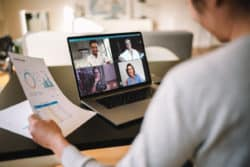 Construction Team Uses Virtual Meetings to Stay in Communication Remotely