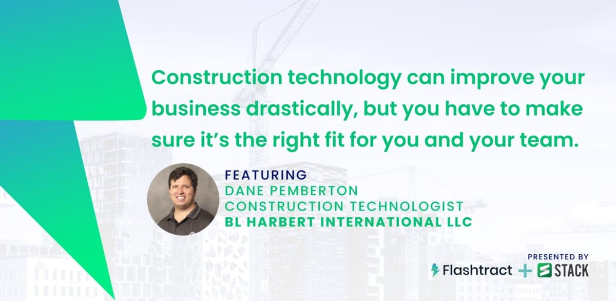 Expert advice on buying construction technology.