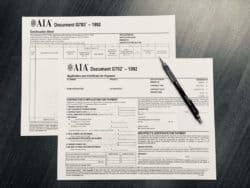 A faster way to fill out AIA G702 and AIA G703 Forms