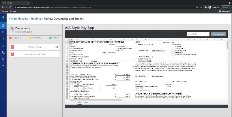 Generating an AIA G702 and AIA G703 in Minutes with Flashtract